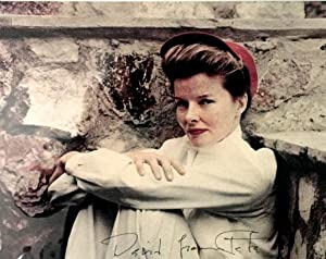 ORIGINAL COLOR PHOTOGRAPH OF KATHARINE HEPBURN.