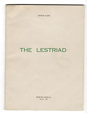THE LESTRIAD.: Katz, Steve.