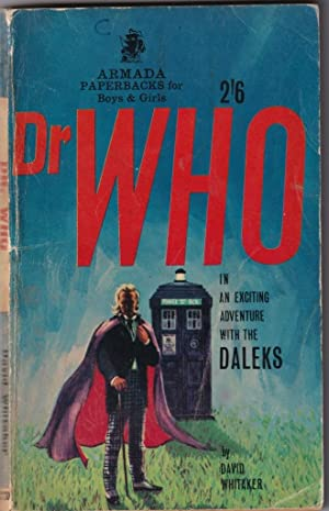 Dr Who, in an exciting adventure with: Whitaker, David