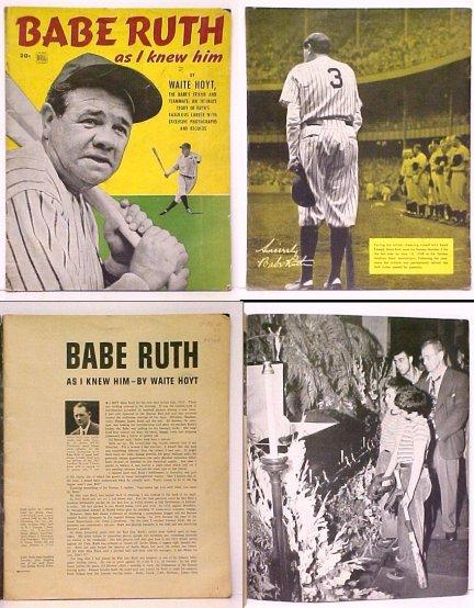 Why was babe ruth called babe-5861