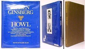 Howl. 1st US draft facsimile: GINSBERG, Allen MILES,