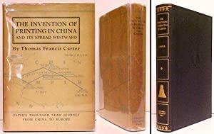 Invention of Printing in China and Its: CARTER, Thomas Francis