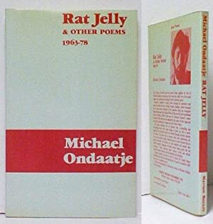 Rat Jelly and Other Poems 1963-78. 1st: ONDAATJE, Michael