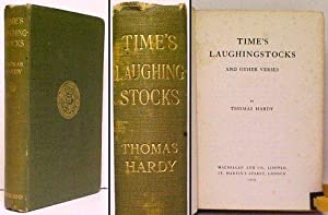 Time's Laughingstocks and Other Verses. 1st UK: HARDY, Thomas