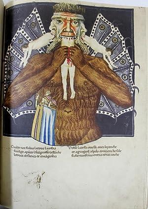 Divina Commedia. Codex Altonensis. [Facsimile] with: Divina Commedia Kommentar zum Codex Altonensis...