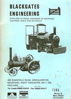 Trade Catalogue, Blackgates Engineering: Blackgates