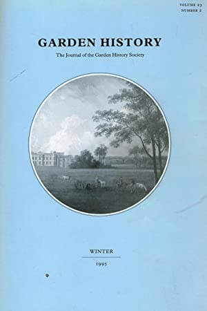 Garden History, The Journal of the Garden: Jane Crawley (Editor)