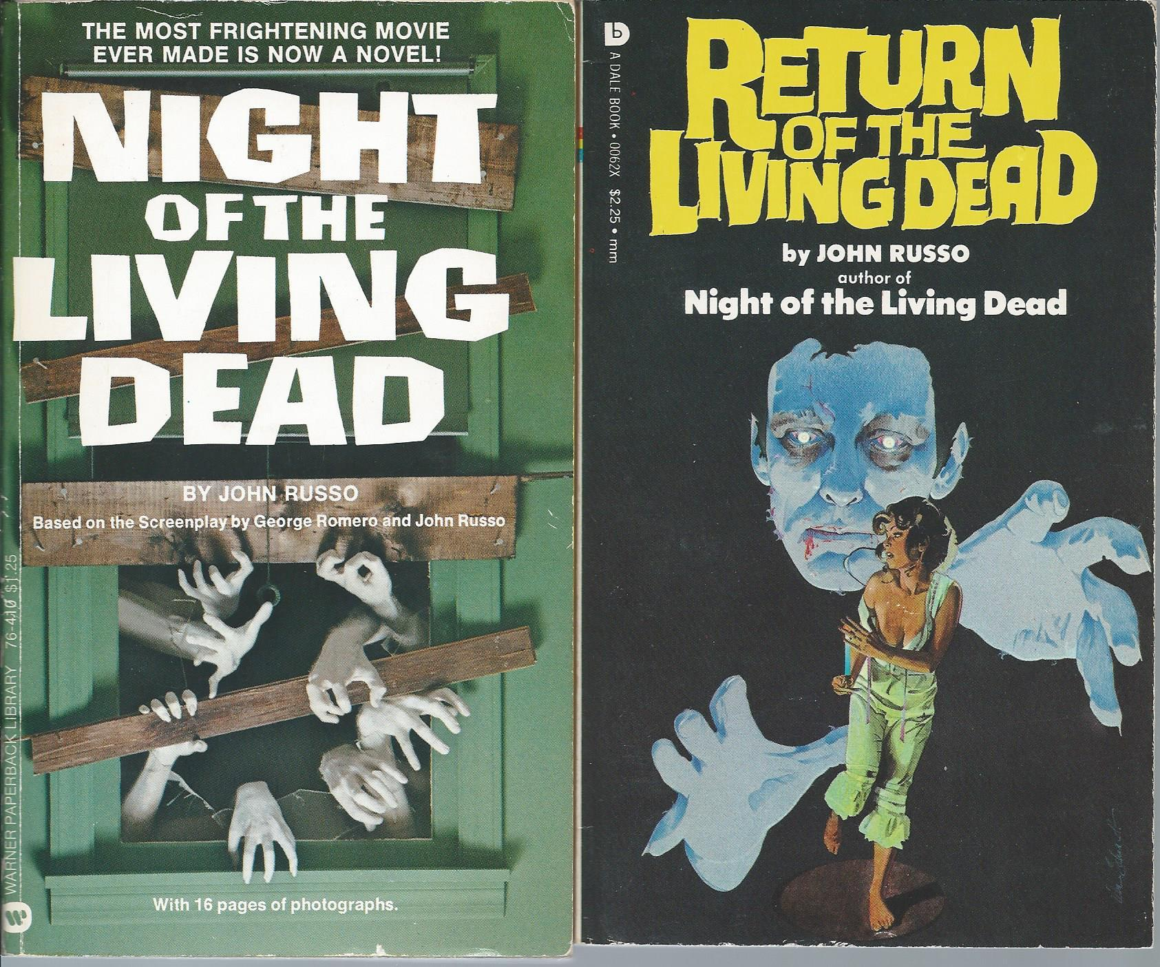"""""LIVING DEAD"""" BOOKS: Night of the Living Dead / Return of the Living Dead Russo, John"