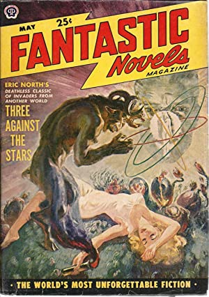 Fantastic Novels (CANADIAN) 1950 Vol. 4 # 1 May: Three Against the Stars / A Priest of Quiche / F...
