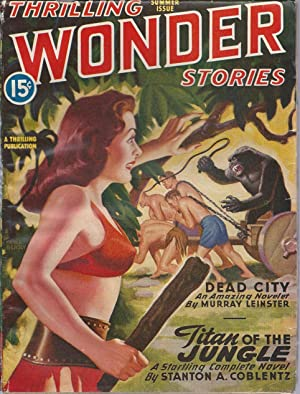 Thrilling Wonder Stories 1946 Vol. 28 # 3 Summer: Titan of the Jungle / Dead City / The Ice World...