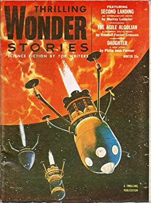 Thrilling Wonder Stories 1954 Vol. 43 #: Mines, Samuel (editor):
