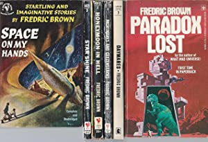 """FREDRIC BROWN"""" SCIENCE FICTION COLLECTIONS: Space on: Brown, Fredric"""