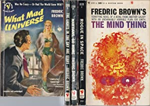 """FREDRIC BROWN"""" SCIENCE FICTION NOVELS: What Mad: Brown, Fredric"""