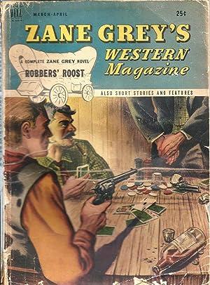 Zane Grey's Western Magazine 1947 Vol. 1: Anonymous (editor): Zane