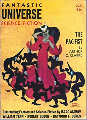Fantastic Universe Science Fiction 1956 Vol. 6 # 3 October: The Pacifist, A Way of Life, First La...