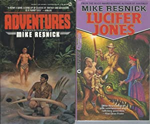 "CHRONICLES OF LUCIFER JONES"" SERIES: Adventures (book: Resnick, Mike"