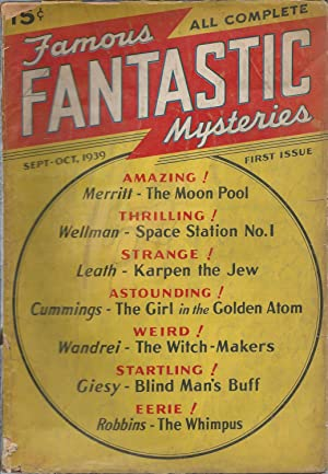 "FAMOUS FANTASTIC MYSTERIES"" COMPLETE 81-VOLUME SET: 1939, 1940, 1941, 1942, 1943, 1944, 1945, ..."