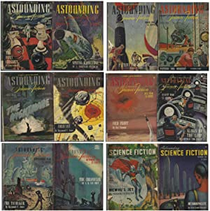 Astounding Science-Fiction 1946 January, February, March, April, May, June, July, August, Septemb...