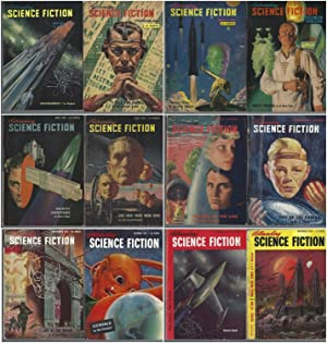 Astounding Science Fiction 1951 January, February, March, April, May, June, July, August, Septemb...