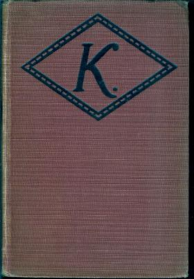 K. (Photoplay Title K, The Unknown): Rinehart, Mary Roberts