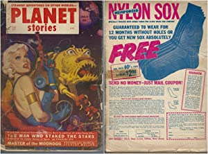 Planet Stories 1952 Vol. 5 # 7 July: Beyond Lies the Wub / Man Who Staked the Stars / Wealth of E...