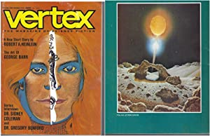 Vertex The Magazine of Science Fiction 1973 Vol. 1 # 5 December