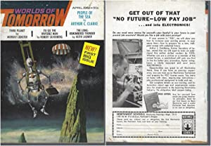 Worlds of Tomorrow 1963 Vol. 1, No. 1 April (FIRST ISSUE)