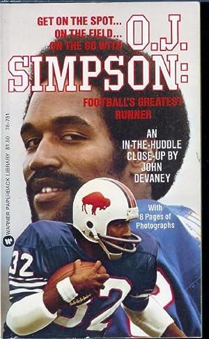 O.J. Simpson: Football's Greatest Runner: Devaney, John