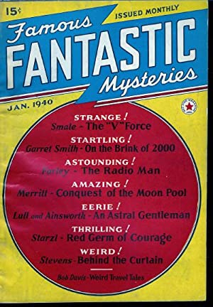 Famous Fantastic Mysteries 1940 Vol. 1 #: Gnaedinger, Mary (editor):