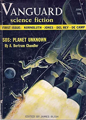 Vanguard Science Fiction 1958 Vol. 1 # 1 June (FIRST & ONLY ISSUE)