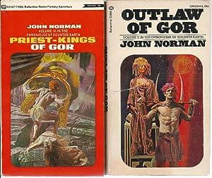 "GOR"" SERIES: # 2 Outlaw of Gor: Norman, John (pseudonym"