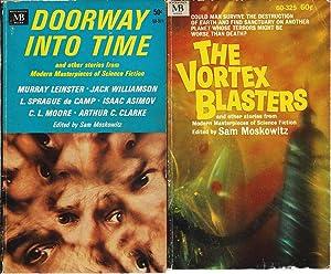 """SAM MOSKOWITZ"""" EDITED ANTHOLOGIES: Doorway Into Time: Moskowitz, Sam (editor):"""