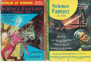 "SCIENCE FANTASY YEARBOOK / SCIENCE FANTASY"" COMPLETE: Cohen, Sol (editor):"