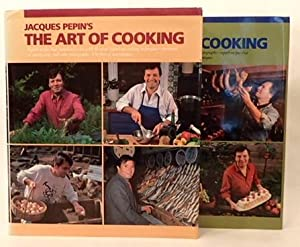JACQUES PEPIN'S ART OF COOKING (and) JACQUES PEPIN'S ART OF COOKING VOLUME 2