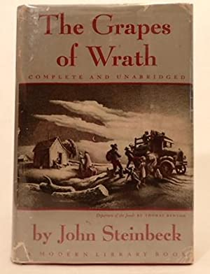 THE GRAPES OF WRATH. (OF MICE AND MEN): Steinbeck, John. (Kaufman, George S.) (Hart, Moss)