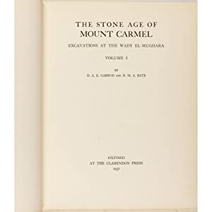The Stone Age of Mount Carmel. Volume I: Excavations at the Wady El-Mughara. Volume II: The Fossil ...