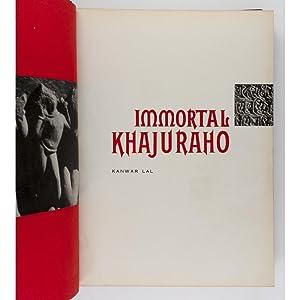 Immortal Khajuraho.: Lal, Kanwar