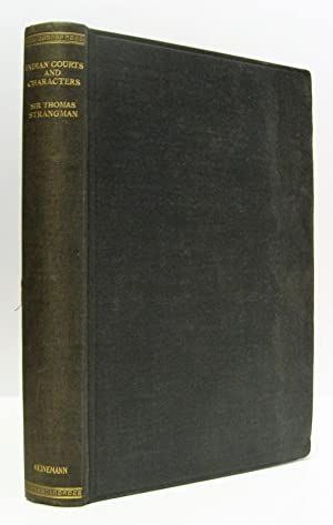 Indian Courts and Characters.: Strangman, Sir Thomas