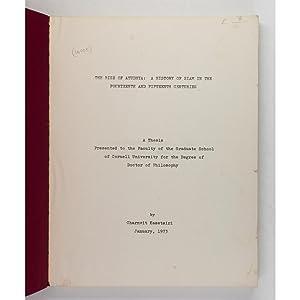 The Rise of Ayudhya. A History of: Charnvit Kasetsiri