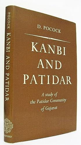Kanbi and Patidar. A Study of the: Pocock, David F.