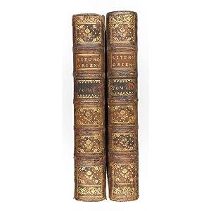 Liturgiarum Orientalium Collectio, in qua continentur liturgiae: Renaudot, Eusèbe