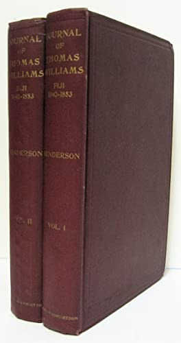 The Journal of Thomas Williams, Missionary in: Williams, Thomas; Henderson