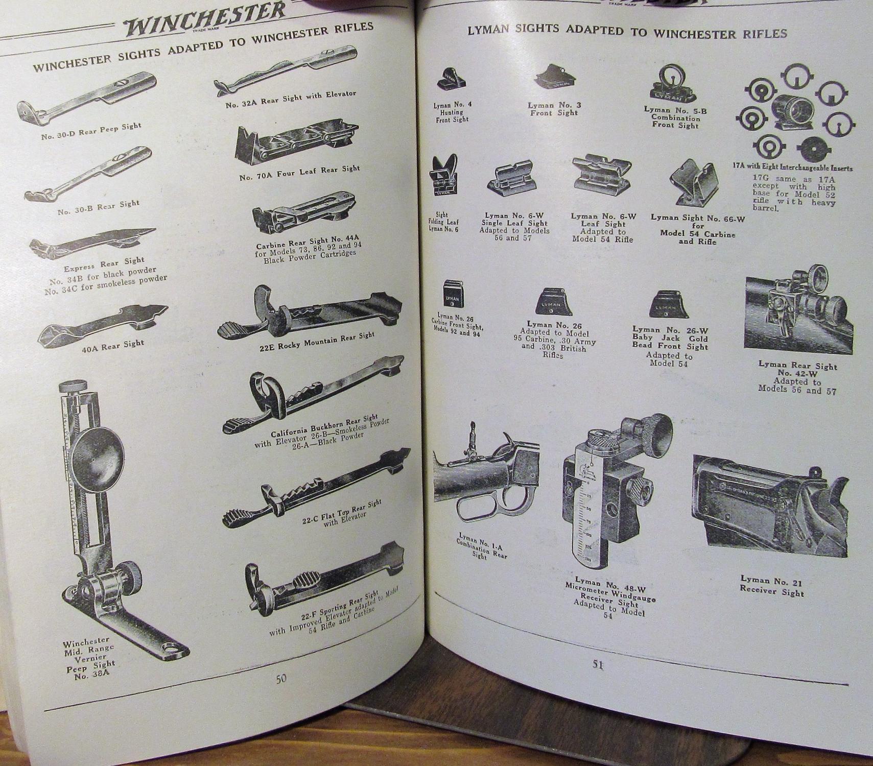 Winchester, World Standard Guns and