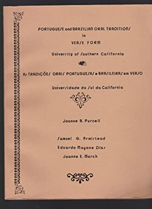 Portuguese and Brazilian Oral Traditions in Verse: Joanne B. Purcell