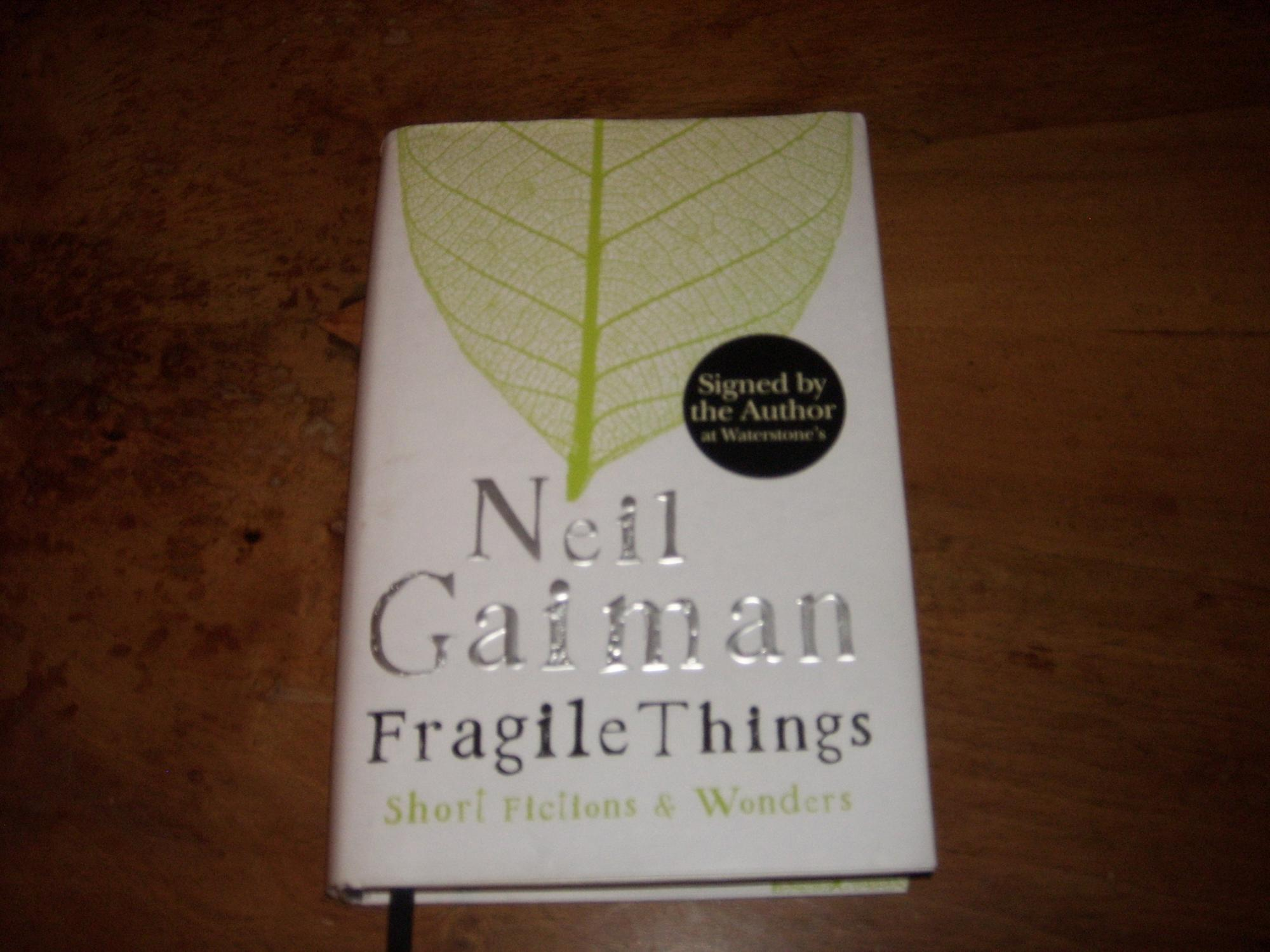 selections from fragile things volume five gaiman neil