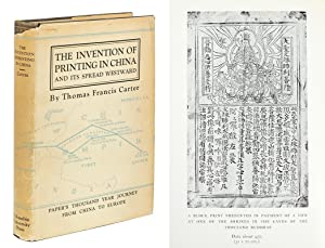 The Invention of Printing in China and: Carter, Thomas Francis.