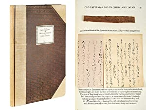 Old Papermaking in China and Japan.: Hunter, Dard.