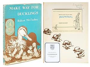 Make Way For Ducklings.: McCloskey, Robert.