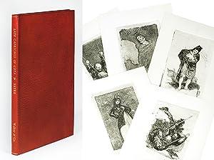 Late Caprichos of Goya Fragments from a: Goya y Lucientes