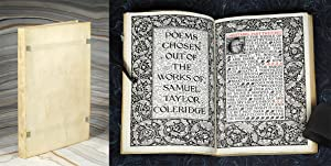 Poems Chosen Out of the Works of.: Kelmscott Press. Coleridge,